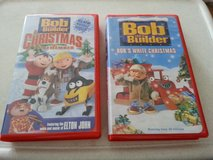 2  Bob the Builder VHS tapes (Christmas theme) in Bolingbrook, Illinois