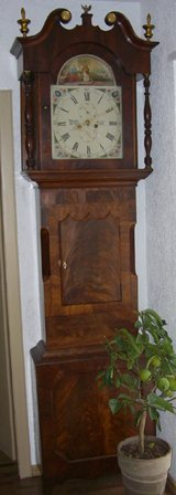 George III Long Case Grandfather clock in Wiesbaden, GE